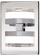 Kuzco VL3906-CH Berg Contemporary Chrome LED Lighting Sconce