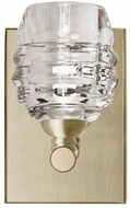 Kuzco VL52105-VB Honeycomb Modern Vintage Brass LED Wall Sconce Lighting