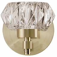 Kuzco VL54204-VB Basin Vintage Brass LED Lighting Wall Sconce