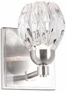 Kuzco VL56205-BN Tulip Contemporary Brushed Nickel LED Wall Mounted Lamp