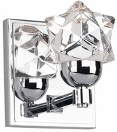 Kuzco VL56305-CH Polaris Modern Chrome LED Wall Light Sconce