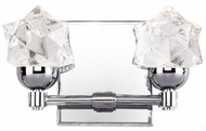 Kuzco VL56310-CH Polaris Modern Chrome LED 2-Light Bathroom Sconce Lighting