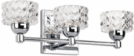 Kuzco VL56416-CH Malt Modern Chrome LED 3-Light Vanity Lighting
