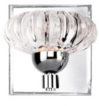 Kuzco VL56505-CH Lantern Modern Chrome LED Wall Lighting
