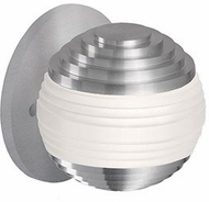Kuzco WS10502-BN Supernova Contemporary Brushed Nickel LED Wall Light Sconce