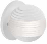 Kuzco WS10502-WH Supernova Modern White LED Wall Lighting Fixture