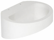 Kuzco WS10807-WH Contemporary White LED Wall Light Sconce