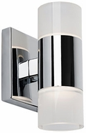 Kuzco WS12008-CH Modern Chrome LED Sconce Lighting