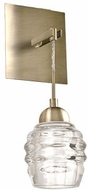Kuzco WS52104-VB Honeycomb Vintage Brass LED Wall Lighting Fixture