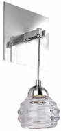 Kuzco WS54501-CH Nest Chrome LED Wall Lighting Fixture