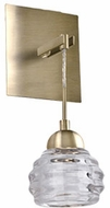 Kuzco WS54501-VB Nest Vintage Brass LED Wall Light Sconce