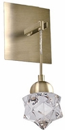 Kuzco WS56305-VB Polaris Contemporary Vintage Brass LED Lamp Sconce