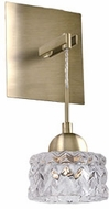Kuzco WS56405-VB Malt Modern Vintage Brass LED Lighting Wall Sconce