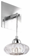 Kuzco WS56505-CH Lantern Modern Chrome LED Wall Sconce Lighting