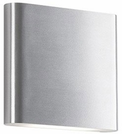 Kuzco WS6506-BN Slate Modern Brushed Nickel LED Wall Lighting