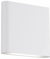 Kuzco WS6506-WH Slate Contemporary White LED Sconce Lighting