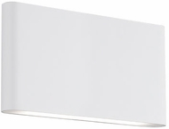 Kuzco WS6510-WH Slate Contemporary White LED Lighting Sconce