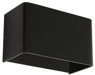 Kuzco WS7405-BK Modern Black LED Wall Lighting Fixture