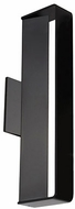 Kuzco WS7416-BK Contemporary Black LED Wall Sconce