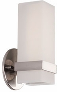 Kuzco WS8809-BN Bratto Contemporary Brushed Nickel LED Light Sconce