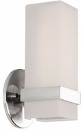 Kuzco WS8809-CH Bratto Modern Chrome LED Lighting Sconce