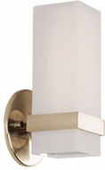 Kuzco WS8809-VB Bratto Contemporary Vintage Brass LED Lamp Sconce