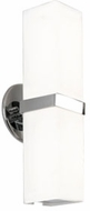 Kuzco WS8815-CH Bratto Contemporary Chrome LED Wall Light Fixture
