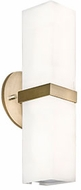Kuzco WS8815-VB Bratto Modern Vintage Brass LED Lighting Wall Sconce