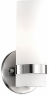 Kuzco WS9809-BN Milano Contemporary Brushed Nickel LED Wall Mounted Lamp