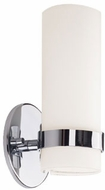Kuzco WS9809-CH Milano Modern Chrome LED Wall Light Sconce