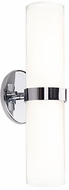 Kuzco WS9815-CH Milano Contemporary Chrome LED Wall Sconce Light