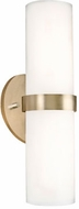 Kuzco WS9815-VB Milano Modern Vintage Brass LED Wall Sconce