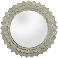 Lazy Susan 114184 Antique Silver Mirror, Clear Mirror