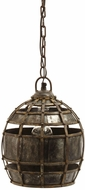 Lazy Susan 135008 Fortress Vintage Distressed Silver Mini Lighting Pendant