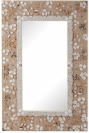 Lazy Susan 159-015 Shell Mirror Natural Wall Mirror