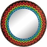 Lazy Susan 163-002 Multi Starburst Modern Color Mirror