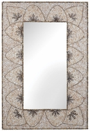 Lazy Susan 163-005 Shell Mirror Natural Wall Mirror