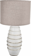 Lazy Susan 223079 Milk Flaked White Table Top Lamp
