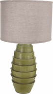 Lazy Susan 223088 Spring Flaked Green Table Lighting