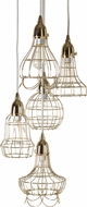 Lazy Susan 225052 Gold Wire Vintage Gold Multi Hanging Pendant Light