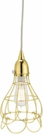 Lazy Susan 225054 Gold Wire Rose Vintage Gold Mini Hanging Light Fixture