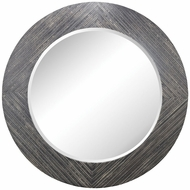 Lazy Susan 351-10248 Blackwall Black Ash Mirror