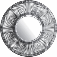 Lazy Susan 466042 Split Rattan Spoke Gray Mirror