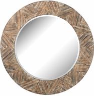 Lazy Susan 51-10162 Natural Drift Wood Wall Mirror