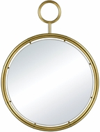 Lazy Susan 5184-015 Minos Gold Plate Wall Mounted Mirror