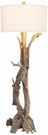 Lazy Susan 7011-291 Hounslow Heath Rustic Natural Floor Lamp