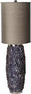 Lazy Susan 762004 Oblong Caycay Dark Gray / Purple Table Lighting