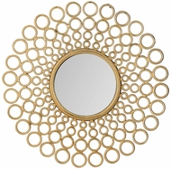 Lazy Susan 8990-017 Contemporary Gold Wall Mirror