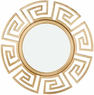 Lazy Susan 8990-039 Pylos Modern Gold Wall Mounted Mirror