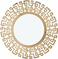 Lazy Susan 8990-045 Xanthi Contemporary Gold Wall Mirror